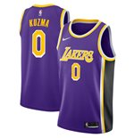 Men's Los Angeles Lakers Kyle Kuzma Nike Purple Statement Edition Swingman Jersey