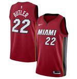 Men's Miami Heat Jimmy Butler Nike Red Statement Edition Swingman Jersey