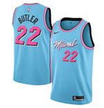 Men's Miami Heat Jimmy Butler Nike Blue City Edition Swingman Jersey