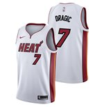 Men's Miami Heat Goran Dragic Nike White Association Edition Swingman Jersey