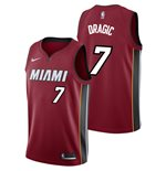Men's Miami Heat Goran Dragic Nike Red Statement Edition Swingman Jersey