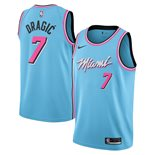 Men's Miami Heat Goran Dragic Nike Blue City Edition Swingman Jersey