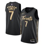 Men's Toronto Raptors Kyle Lowry Nike Black City Edition Swingman Jersey