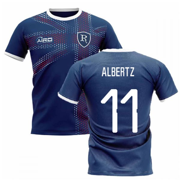 2019-2020 Glasgow Home Concept Football Shirt (ALBERTZ 11)