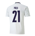2020-2021 Italy Away Puma Football Shirt (PIRLO 21)