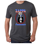 Frank Zappa Unisex Tee: Star Spangled For President