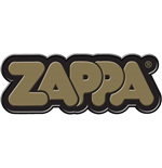 Frank Zappa Fridge Magnet: Gold 3D Bubble Logo
