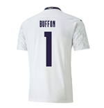 2020-2021 Italy Away Puma Football Shirt (BUFFON 1)