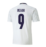2020-2021 Italy Away Puma Football Shirt (INZAGHI 9)