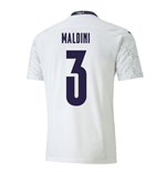 2020-2021 Italy Away Puma Football Shirt (MALDINI 3)