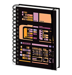 Star Trek: Tng - Control Panel -A5 Wiro Notebook