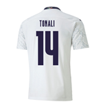 2020-2021 Italy Away Puma Football Shirt (TONALI 14)