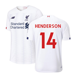 2019-2020 Liverpool Away Football Shirt (Henderson 14)