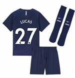 2019-2020 Tottenham Away Nike Little Boys Mini Kit (LUCAS 27)