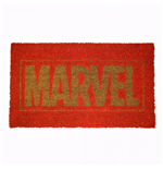 Marvel Title Text 17x 29 Doormat with Non-skid Back
