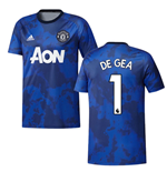 2019-2020 Man Utd Adidas Pre-Match Training Shirt (Mystery Ink) (DE GEA 1)