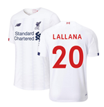 2019-2020 Liverpool Away Football Shirt (Lallana 20)