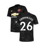 2019-2020 Man Utd Adidas Third Football Shirt (Greenwood 26)