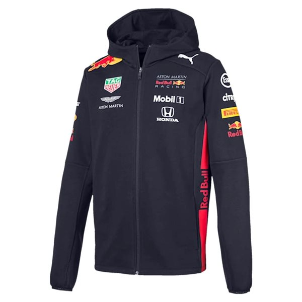 2020 Red Bull Racing Team Hooded Sweat Jacket (Night Sky)
