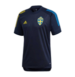 2020-2021 Sweden Training Jersey (Night Indigo)