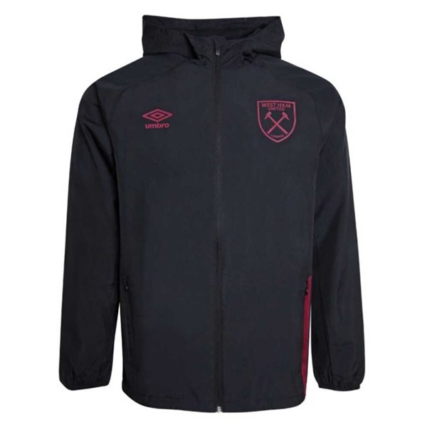 2020-2021 West Ham Shower Jacket (Black)