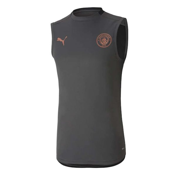 2020-2021 Manchester City Puma Sleeveless Shirt (Asphalt)