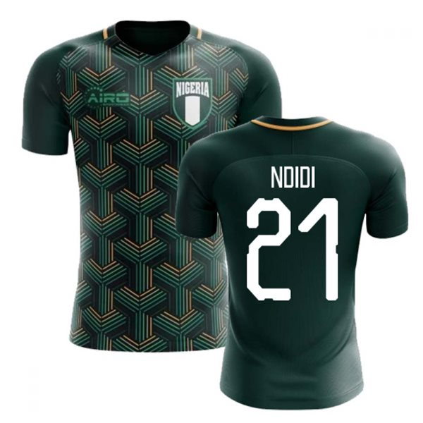 2020-2021 Nigeria Third Concept Football Shirt (Ndidi 21) - Kids