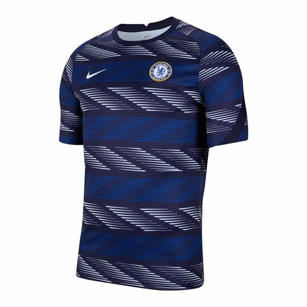 2020-2021 Chelsea Nike Pre-Match Training Shirt (Blue) - Kids