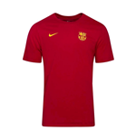 2020-2021 Barcelona Dry Core Match Tee (Red)
