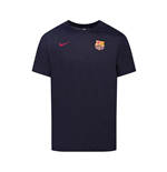 2020-2021 Barcelona Dry Core Match Tee (Obsidian)