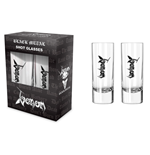 Venom Glassware Black Metal (shot GLASSES)