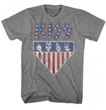 KISS American Flag Colors T-Shirt