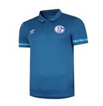 2020-2021 Schalke Poly Polo Shirt (Blue)