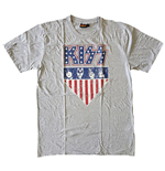 KISS Unisex Tee: Stars And Stripes