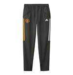 2020-2021 Man Utd Adidas Presentation Pants (Green) - Kids