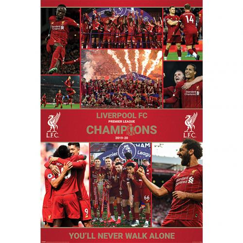 Liverpool FC Premier League Champions Season 12