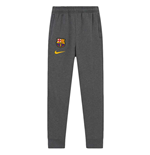 2020-2021 Barcelona Fleece Pants (Charcoal) - Kids