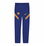 2020-2021 Barcelona Nike Training Pants (Blue) - Kids