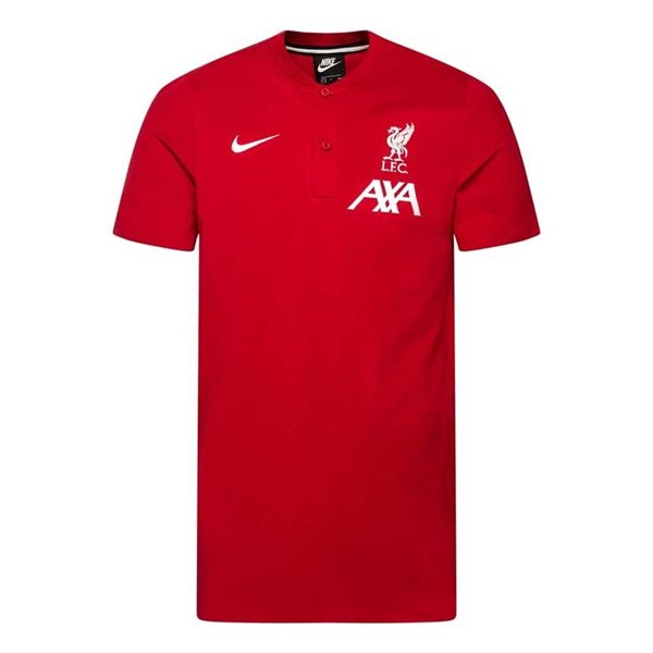2020-2021 Liverpool Authentic Polo Shirt (Red)