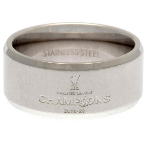 Liverpool FC Premier League Champions Band Ring Large