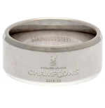 Liverpool FC Premier League Champions Band Ring Medium