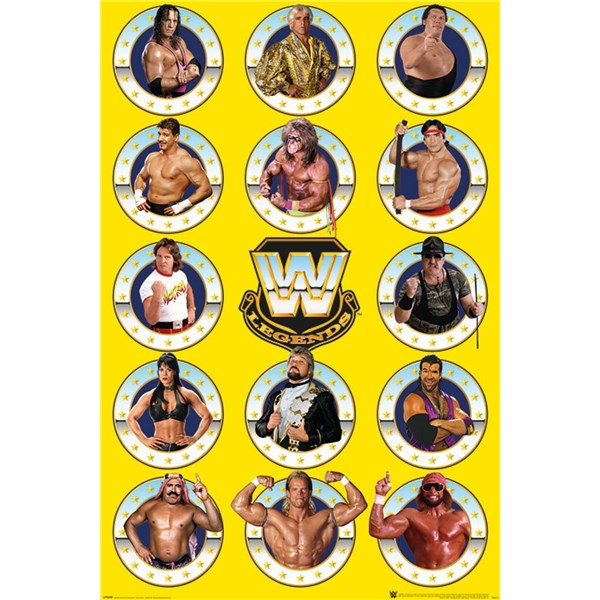 WWE Poster Legends 214