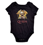 Queen Kids Baby Grow: Classic Crest