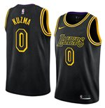 Men's Los Angeles Lakers Kyle Kuzma Nike Black Mamba Edition Swingman Jersey