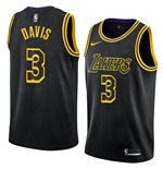 Men's Los Angeles Lakers Anthony Davis Nike Black Mamba Edition Swingman Jersey