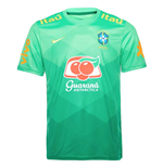 2020-2021 Brazil Pre-Match Top (Green Spark)