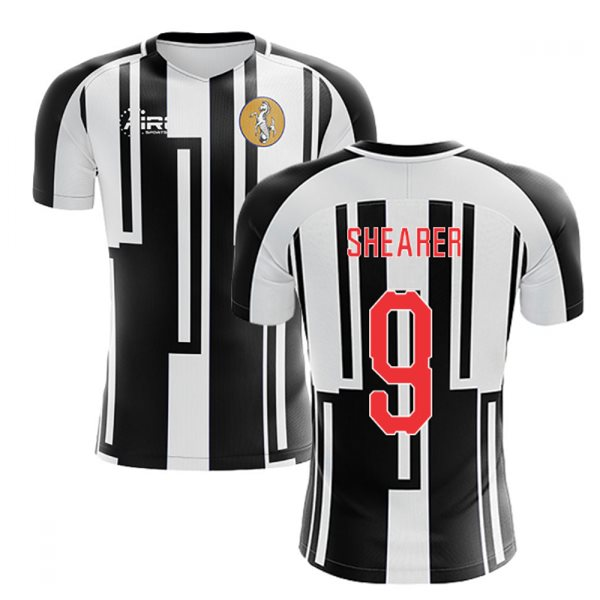 2020-2021 Newcastle Home Concept Football Shirt (SHEARER 9)