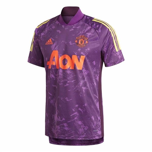 2020-2021 Man Utd EU Training Jersey (Purple)