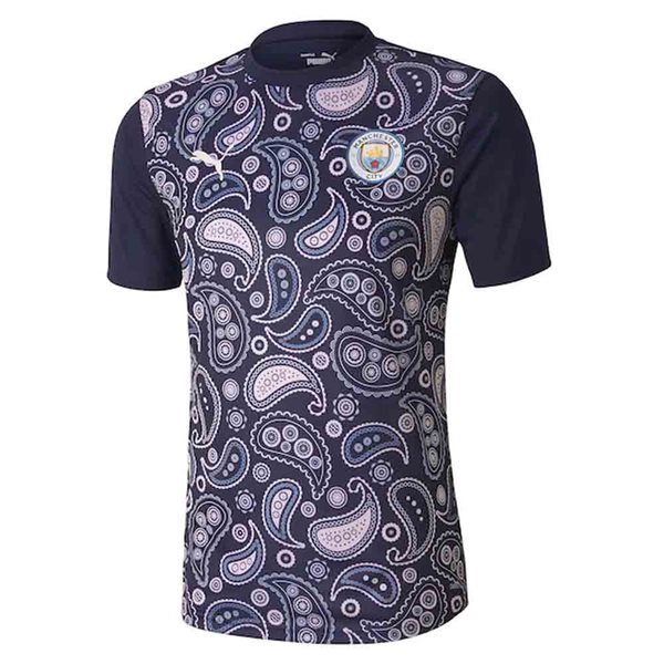 2020-2021 Man City Stadium Jersey (Peacot-Lilac)