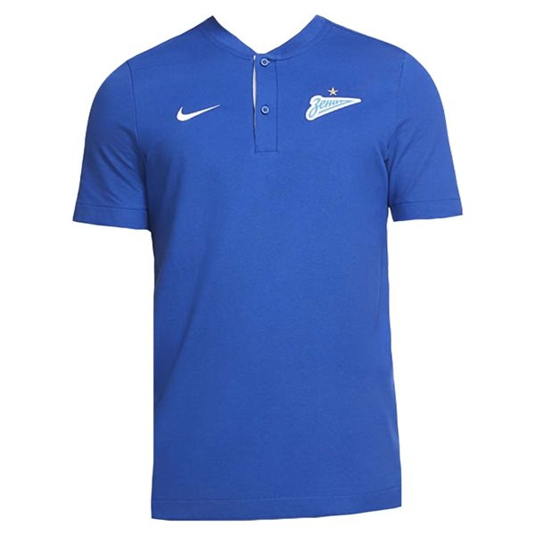 2020-2021 Zenit Authentic Polo Shirt (Blue)